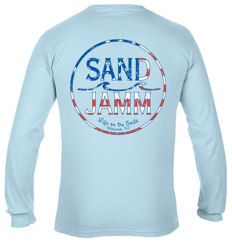 SJ USA Long Sleeve Shirt - Chambray