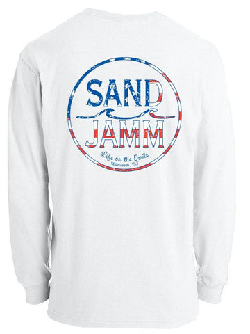SJ USA Long Sleeve Shirt - White