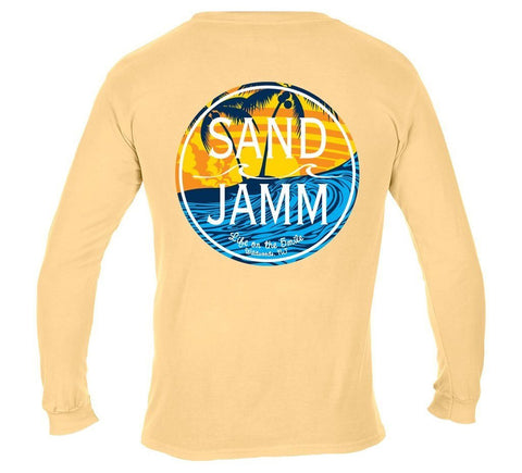 SJ Waves Long Sleeve Shirt - Yellow