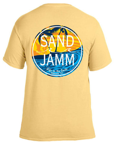 SJ Waves T-Shirt - Yellow