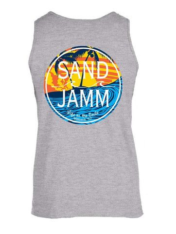 SJ Waves Tank - Grey