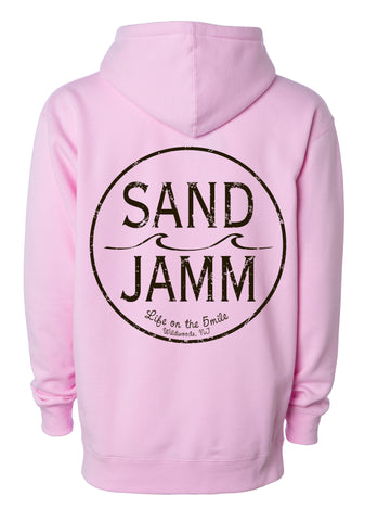 SJ Classic Youth Hooded Pullover - Pink