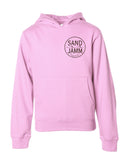 SJ Youth Hooded Pullover - Pink