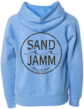 SJ Classic Youth Lightweight Hooded Pullover - Pacific Blue