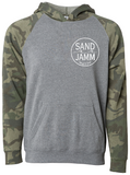 SJ Classic Youth Lightweight Hooded Pullover - Camo/Nickel