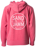 SJ Classic Youth Lightweight Hooded Pullover - Pomegranate