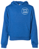 SJ Classic Youth Midweight Hooded Pullover - Royal