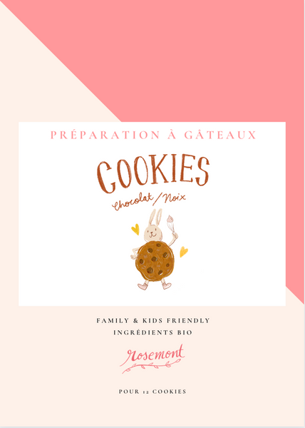 Lot de 3 préparations - 100% Cookies