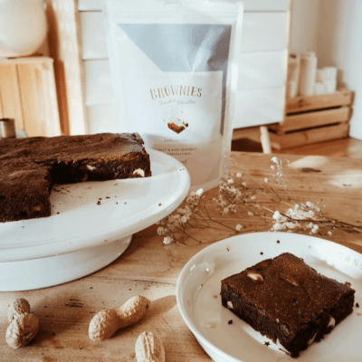 BOX SANS GLUTEN - 2 fondants / 2 brownies