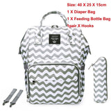 LEQUEEN Maternity Diaper Bag Fashion USB Mummy Large Nursing Travel Backpack Designer Stroller Baby Bag Baby Care Nappy Backpack