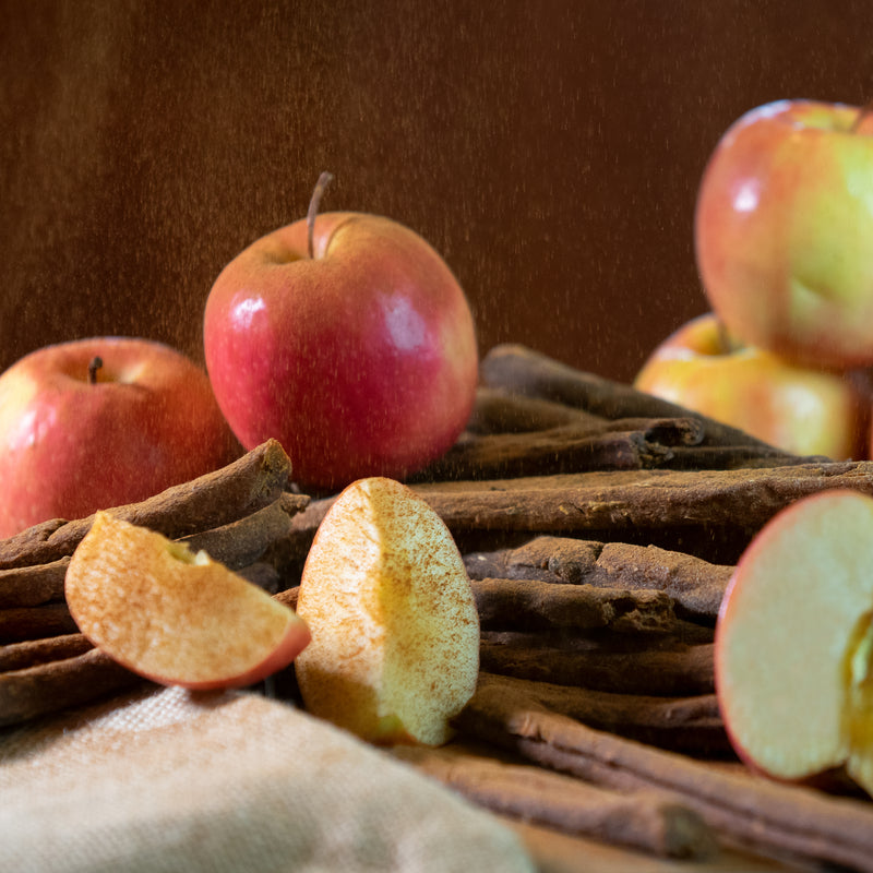 Apple, Cinnamon Sweet Potato Sticks, Hard and Crunchy Vegan Treat for your Dog