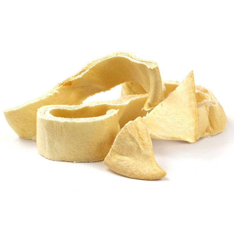 Cow Ear Slivers for Dogs, All Natural, Single Ingredient Harvest