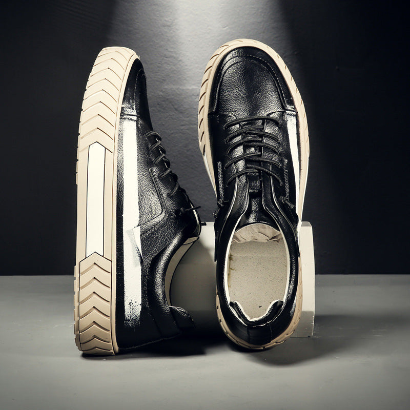 Jerome Casual Leather Sneakers