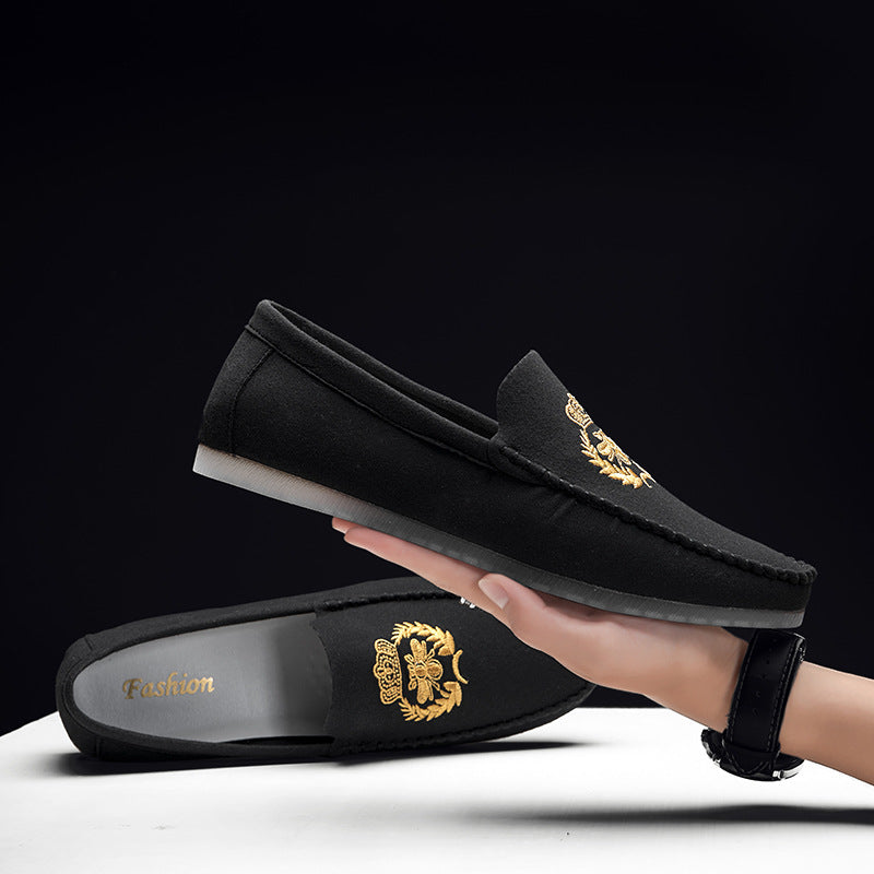 Jeremiah Embroidered Loafers
