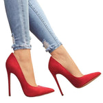 Pointed Court Shoe Heels