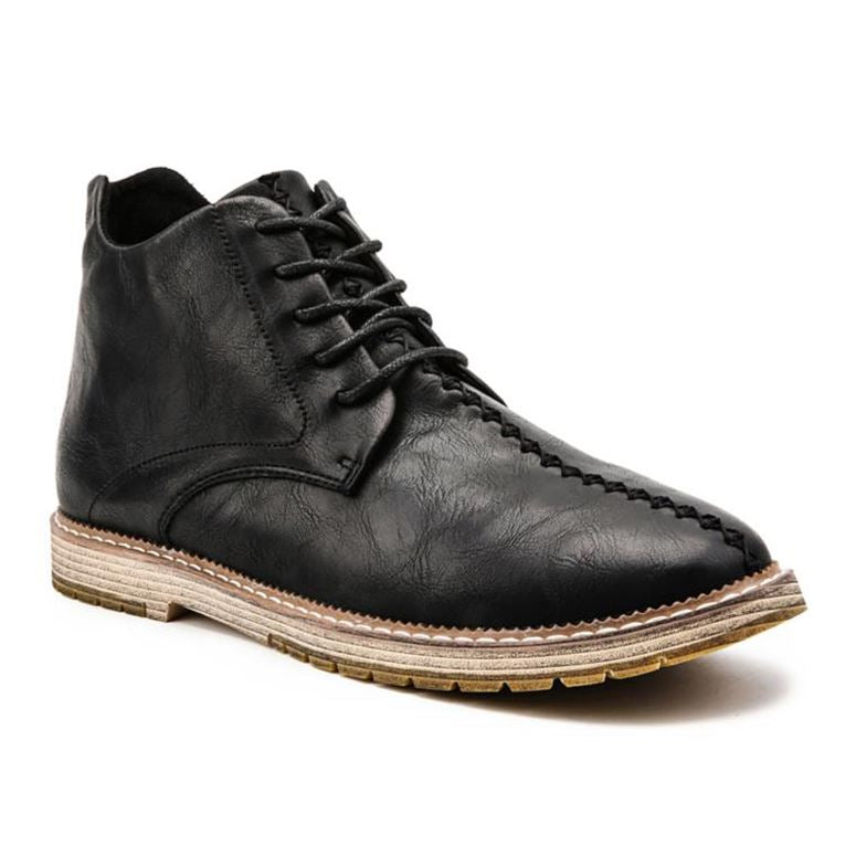 Bruce Leather Boots