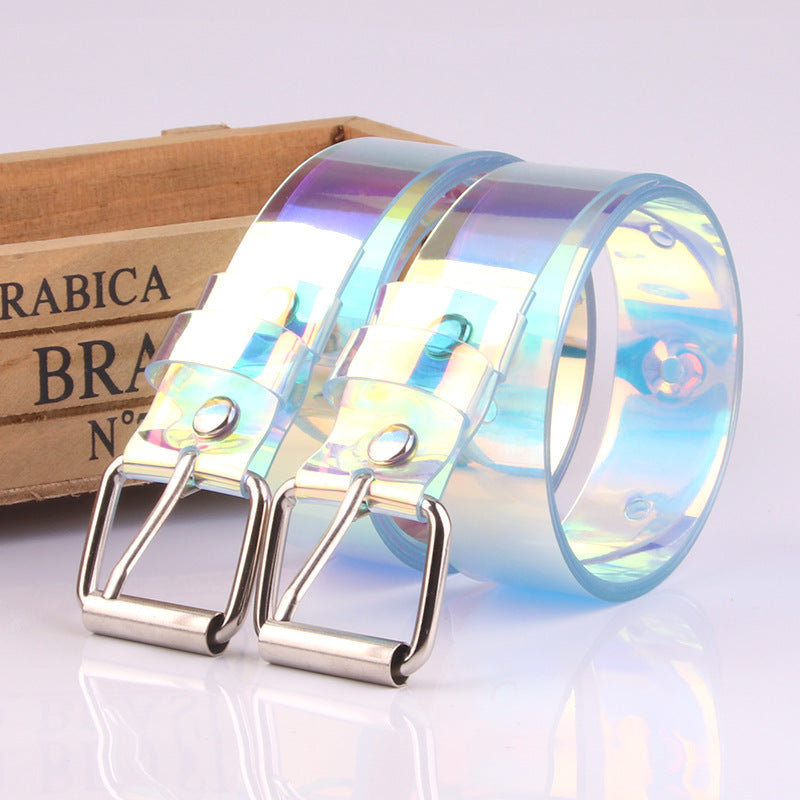 Pearlescent Transparent Belt