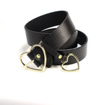 Heart Pin Buckle Belt