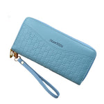 Double Zipper RFID Wallet