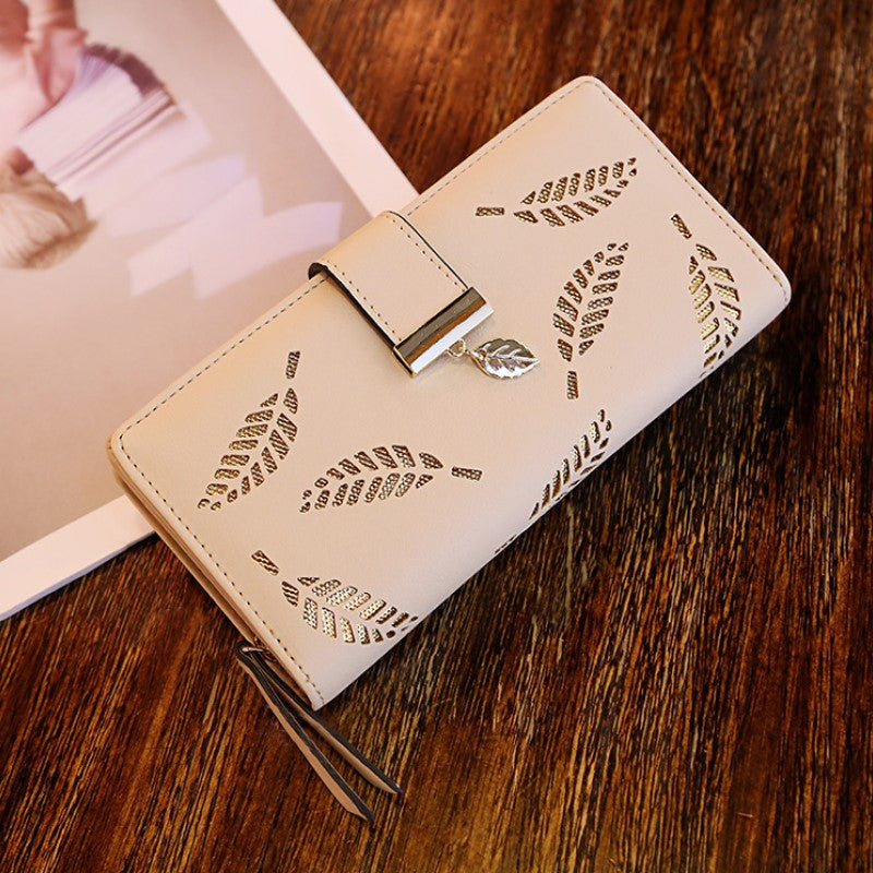 Leaf Pouch Wallet