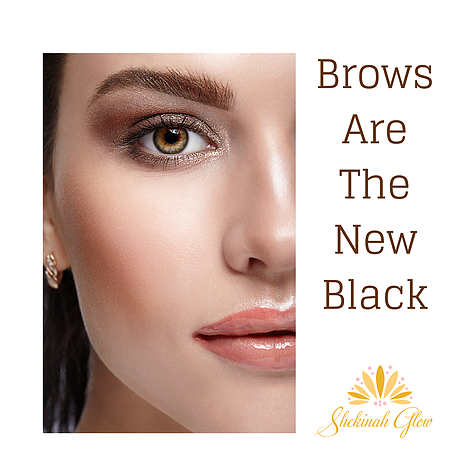 Brows are the new black!