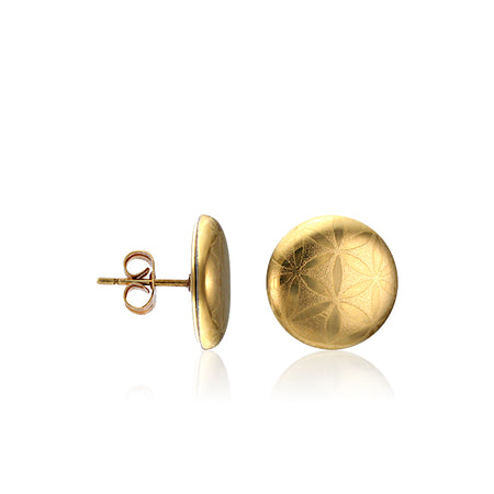 Minimal Golden Post Earrings