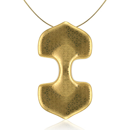 Minimal Golden Extravagant Necklace