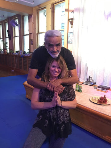 Sarah Wilson and Dharma Mittra Yoga Is Vegan