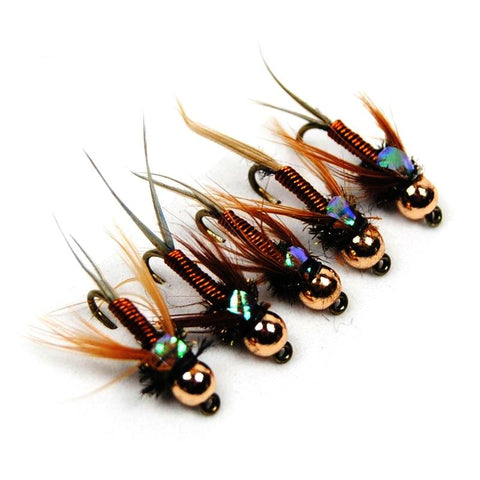 Lot de 12 Mouche Nymphe