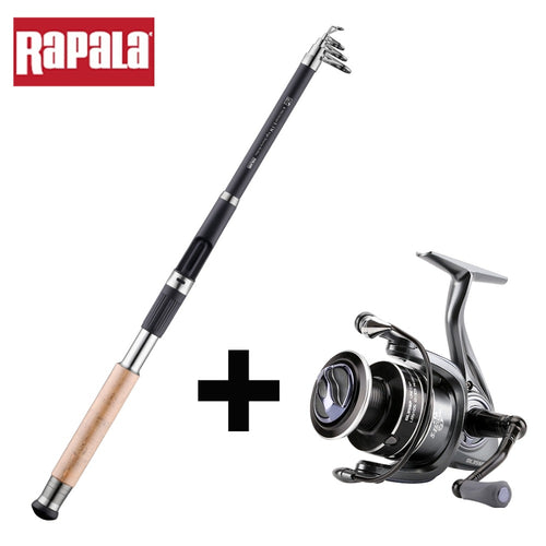 Combo Rapala, Canne + Spinning Delta