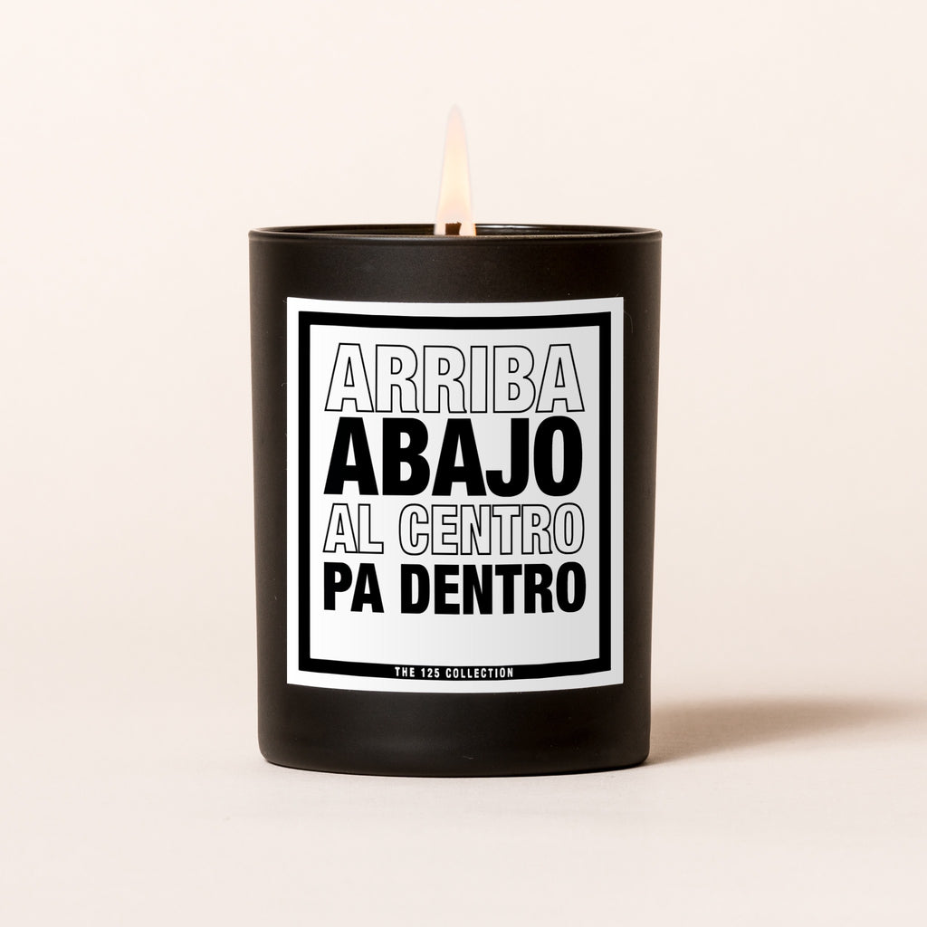 latin quote candle