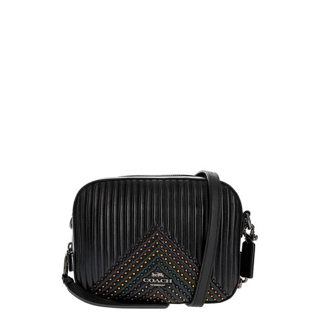 Coach - 31649 - Camera Bag Quilted Black Leather Crossbody Bag