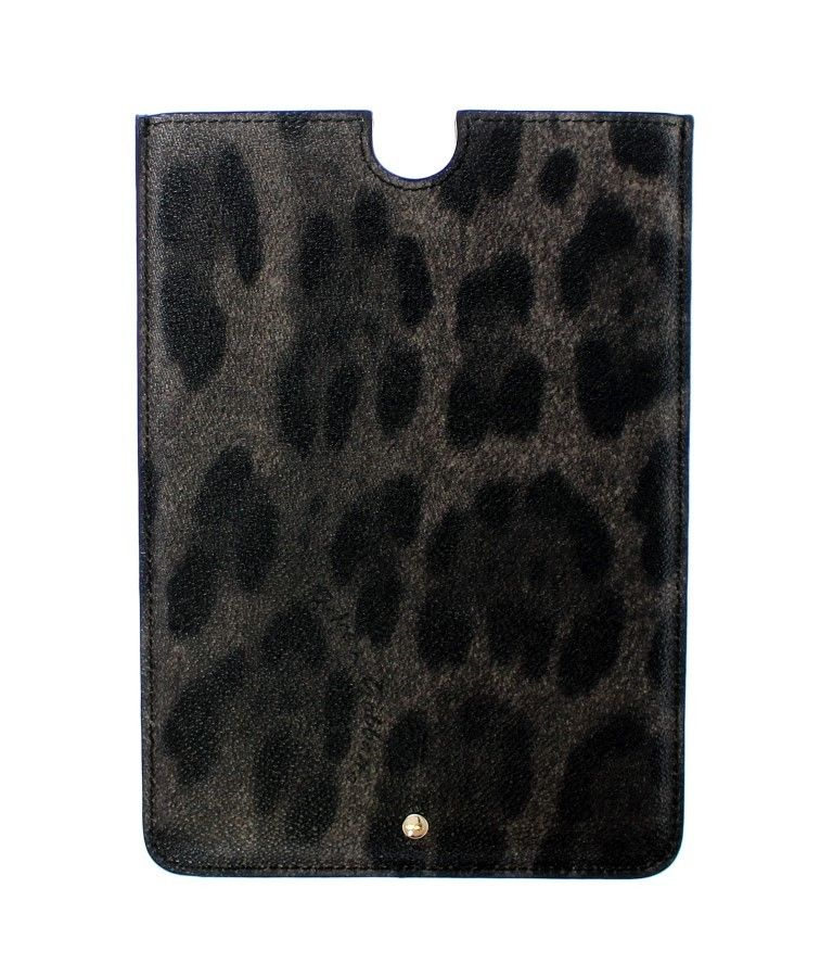 Dolce & Gabbana - Leopard Leather iPAD Tablet eBook Cover