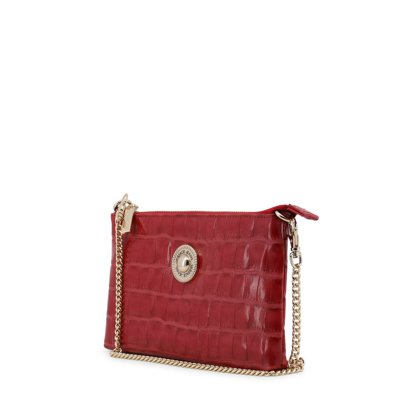 Versace Jeans - Clutch bag - Red Crocodile Effect with Removable Chain Strap 2327fa51048d2