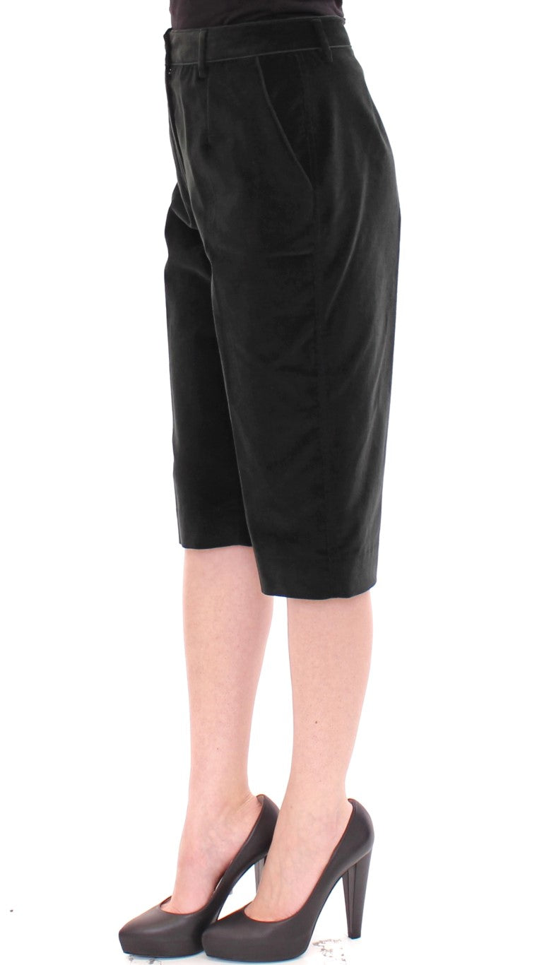 Dolce & Gabbana - Black cotton shorts pants