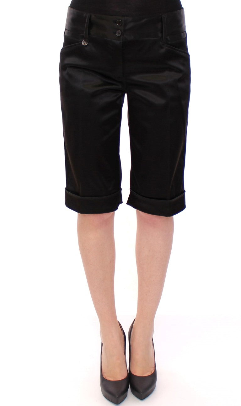 Dolce & Gabbana - Black nylon shorts pants