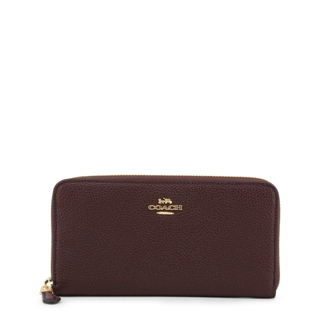 Coach - 58059 Accordion Zip Wallet Red