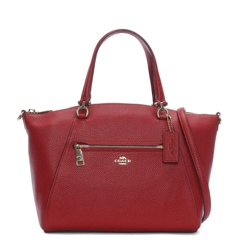 Coach - 58874 - Prairie Satchel Rich Red Leather Handbag