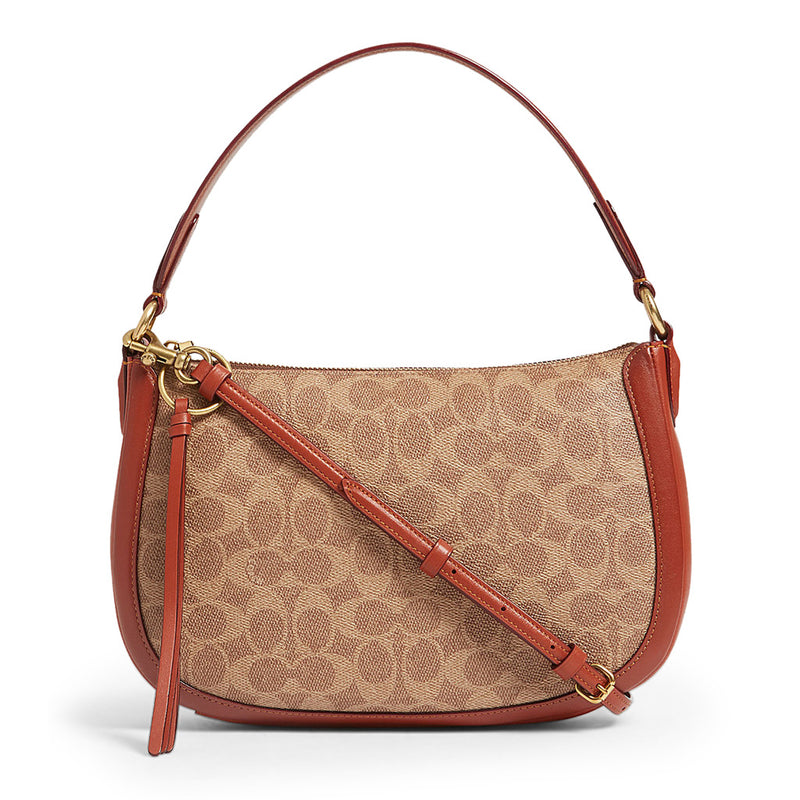 Coach - 52577 -  Sutton In Signature Canvas Shoulder Bag