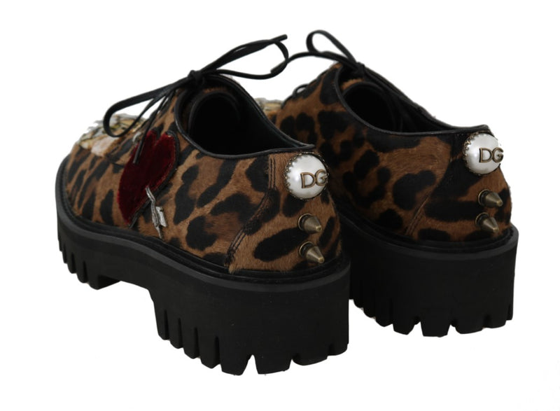 Brown Bengal Cat Crown Shoes