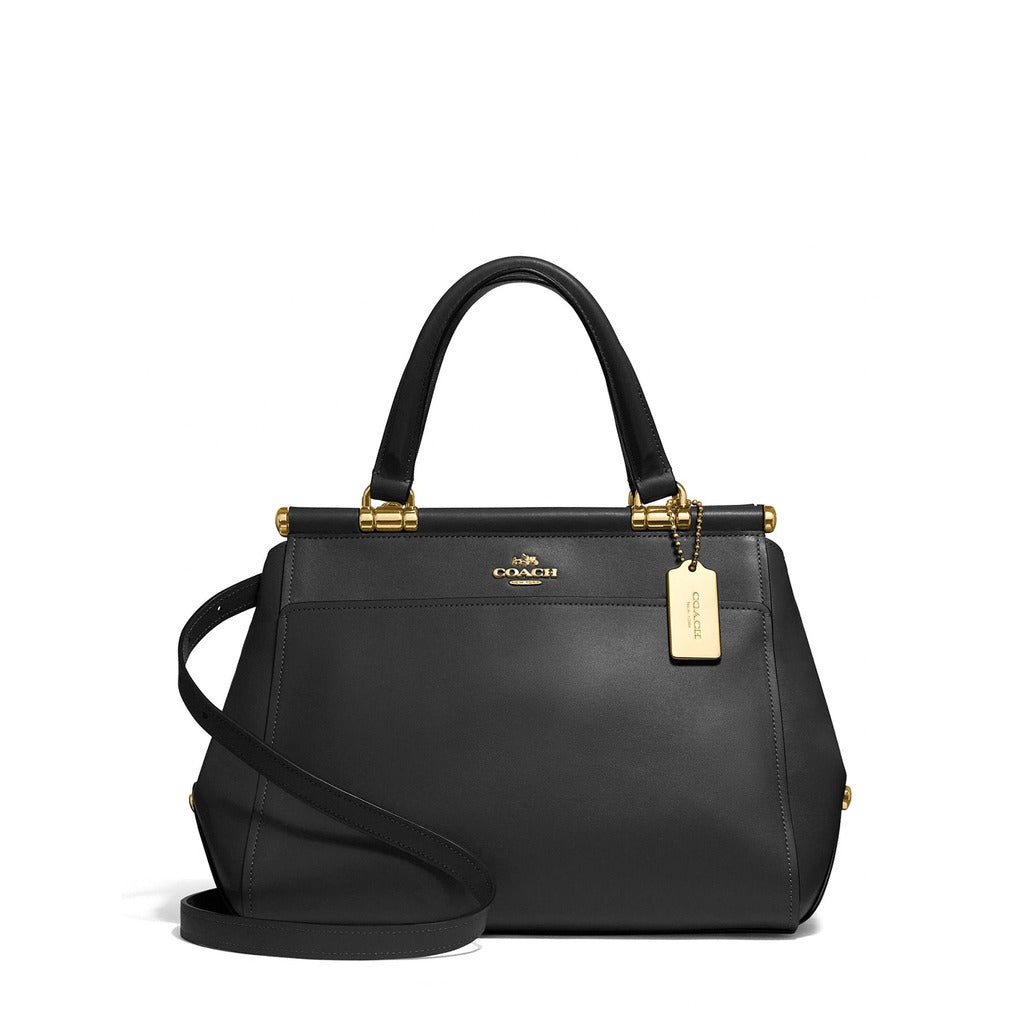 Coach - 31916 - Grace 20 in Black Refined Calf Leather