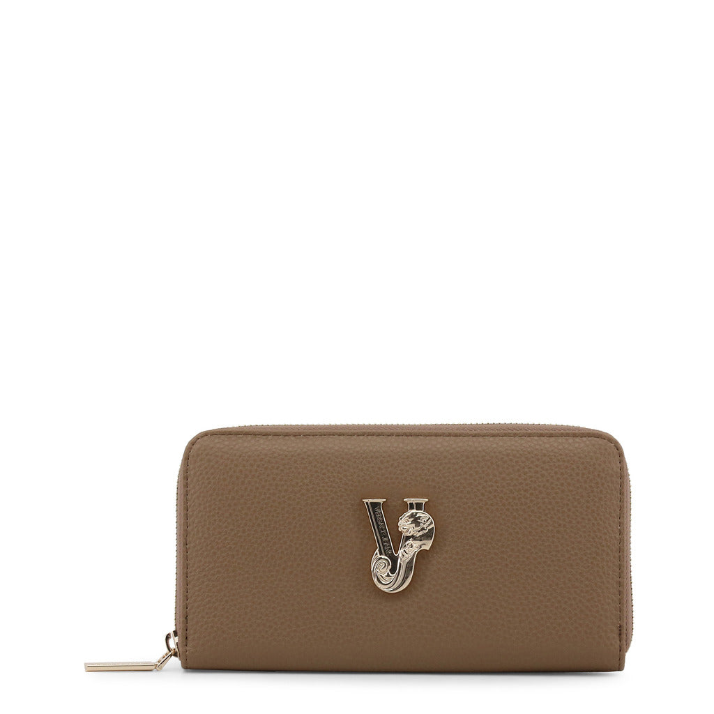 Versace Jeans - Wallet - Brown with VJ Logo
