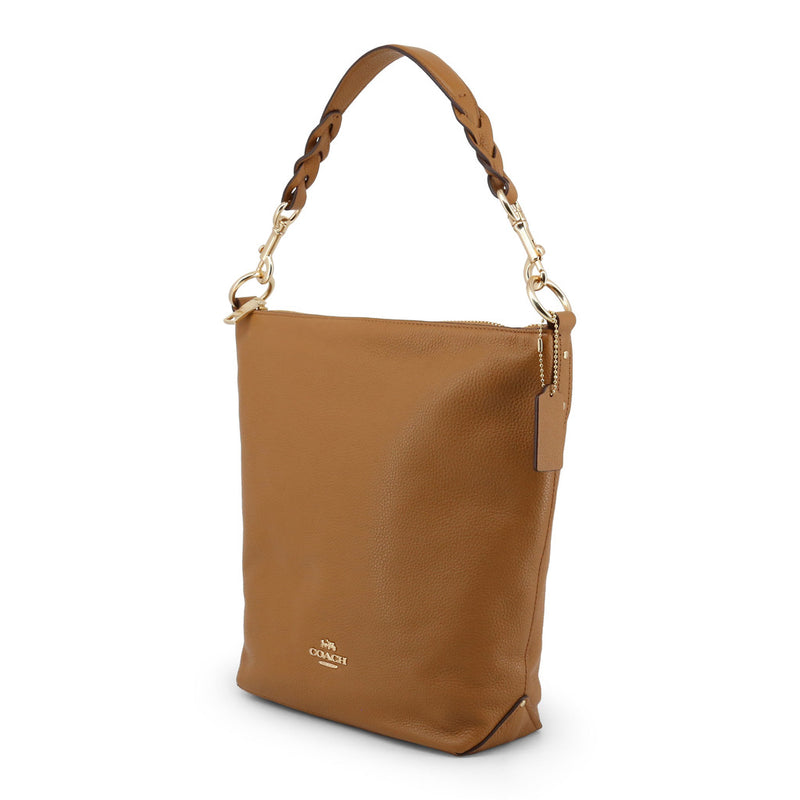 Coach - F31507 -  Abby Duffle Tan Leather Shoulder Bag