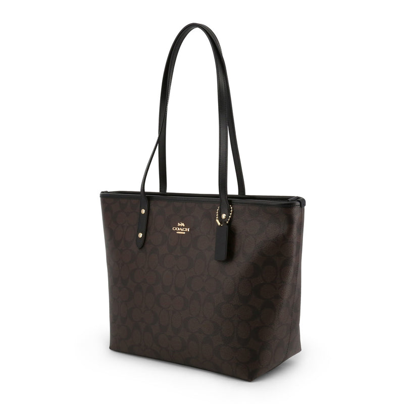 Coach - F58292 - Market Canvas Tote Signature Shopping Bag