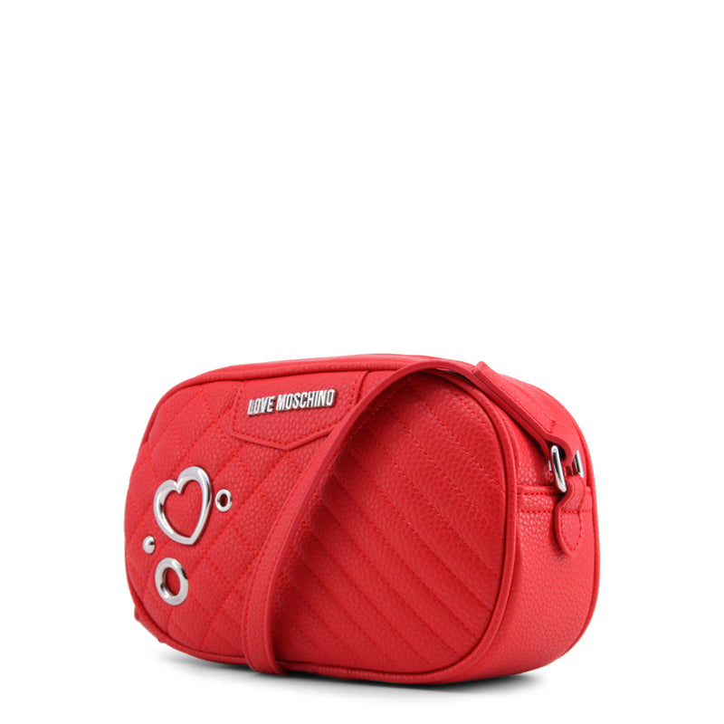 Love Moschino - Crossbody Bag - Red with Heart Logo