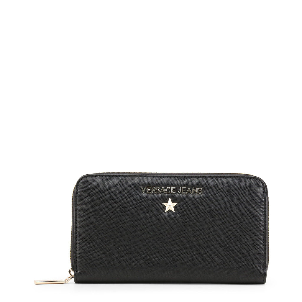 Versace Jeans - Wallet - Black with White Star