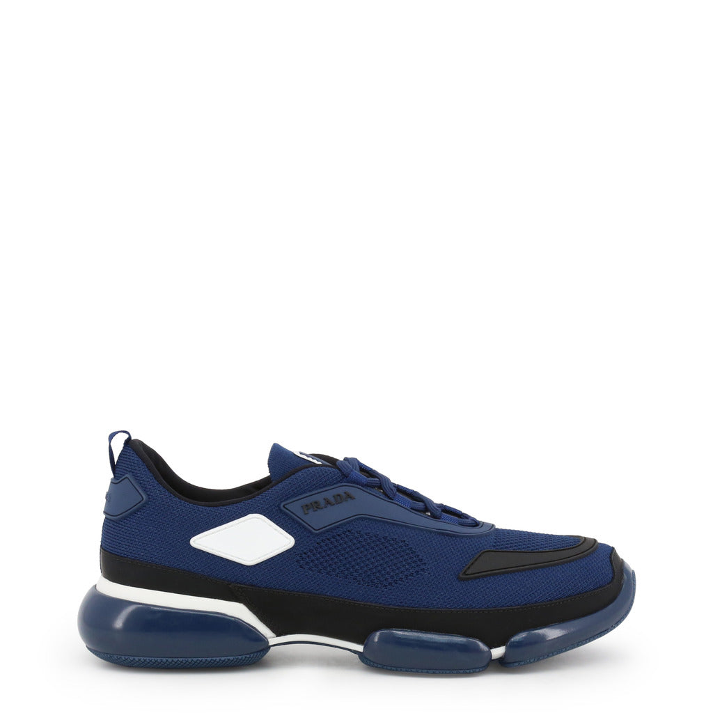 Prada - 2EG253 - Blue with White Trim Sneakers
