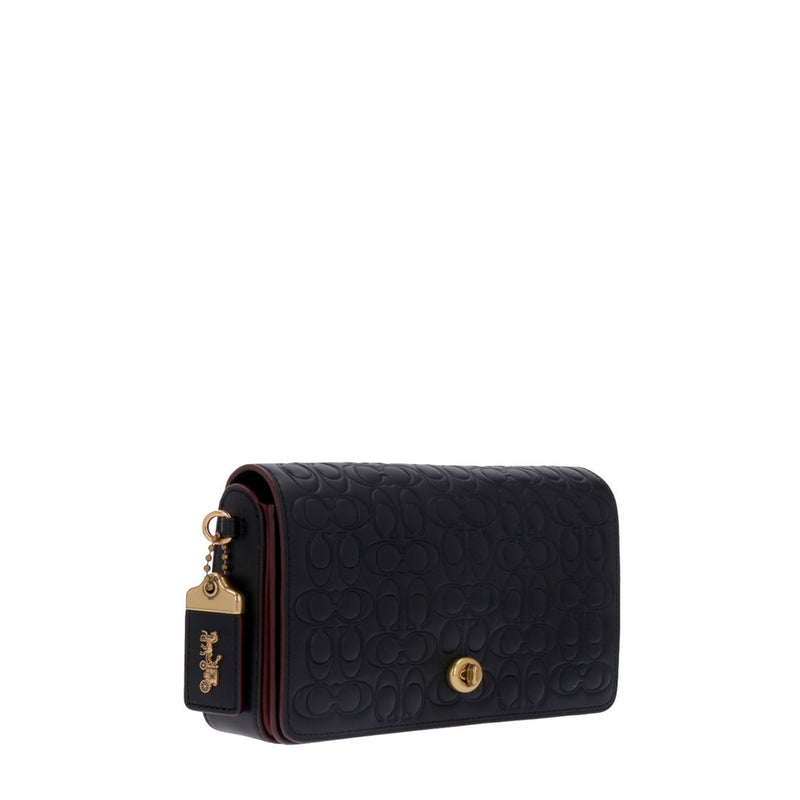 Coach - 28631 - Dinky In Signature Leather - Black/Old Brass