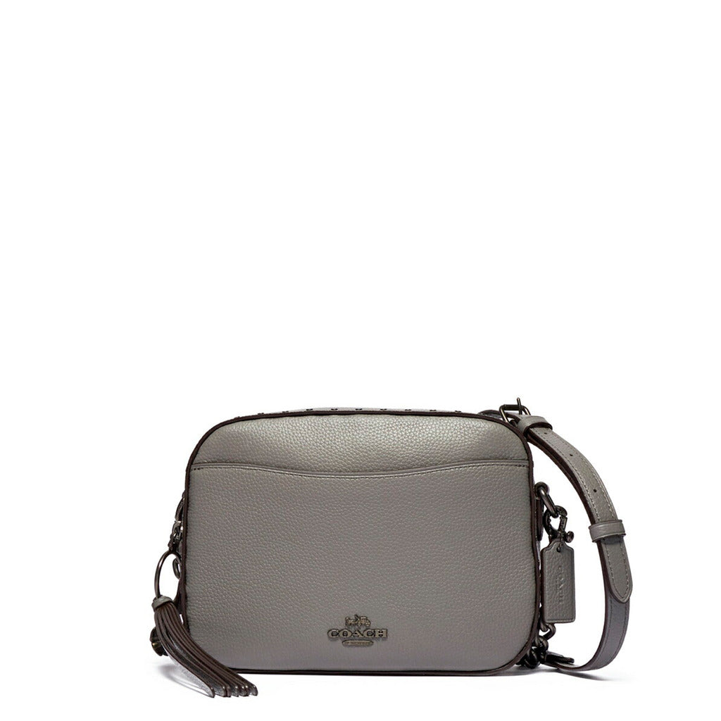 Coach - 31648 - Coach Camera Leather Shoulder Bag in Grey