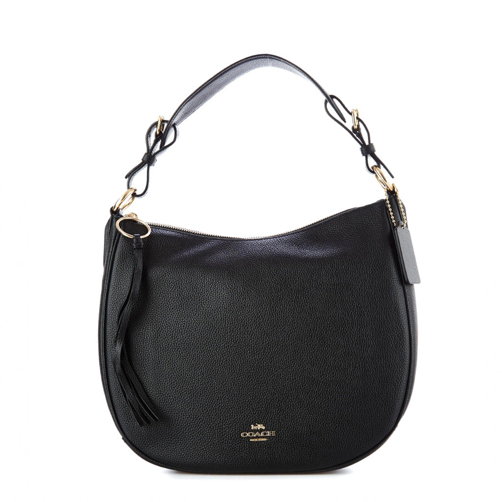 Coach - 35593 - Sutton Hobo Black Leather Shoulder Bag
